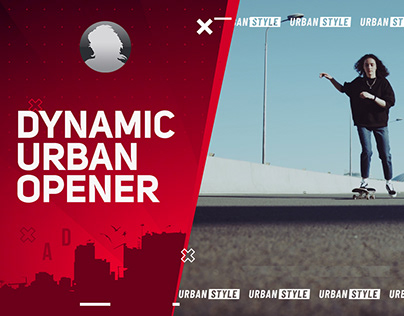 Dynamic Urban Opener - After Effects Template