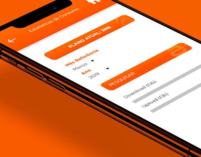 Mobile App - Nova Fibra Telecom
