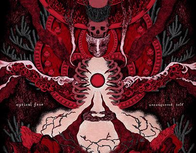 Album Cover • OPTICAL FAZE - UNCONQUERED SELF