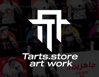 tarts store art work
