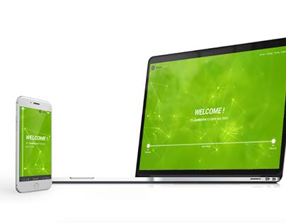 Moka Mint - Web Design