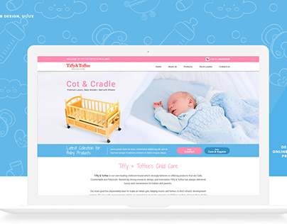 UX/UI Design For Baby care online products