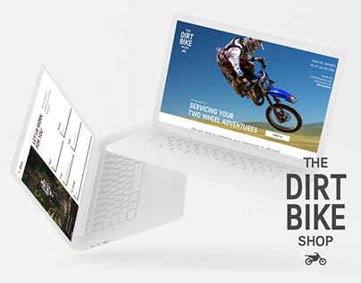 The Dirt Bike Shop | Landing Page