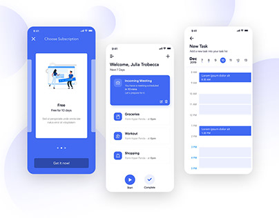 Your Next Task Manager App UI Design