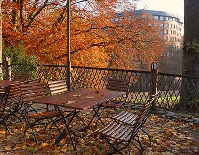 Autumn colours in Bremen. [PHOTOS]