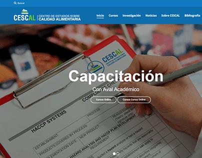 Cescal Desarrollo Web Wordpress