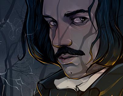 «Gogol. Beginning» | instagram comix for TV series