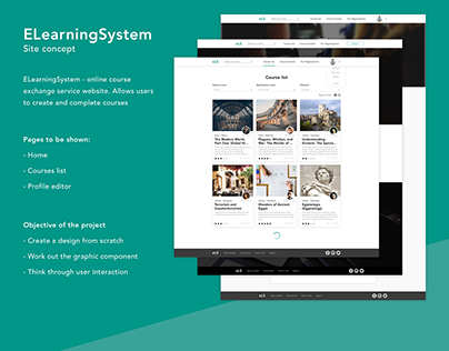 Design for ELearningSystem - course cloud