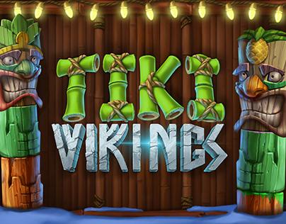 Tiki Vikings. Online Slot Game