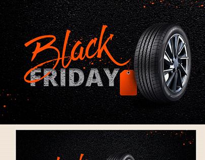 Black Friday - Pneus