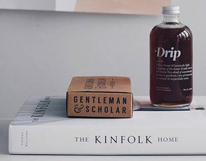 Gentleman & Scholar Branding & Packaging Design