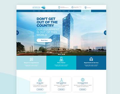 Abdali Medical Center Website