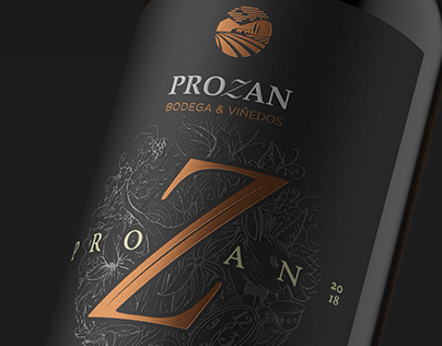 Brand and Packaging design PROZAN Bodega y Viñedo
