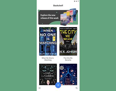 Book App UI Design & Prototype