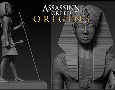 Assassin's Creed Origins - Tutankhamun statue