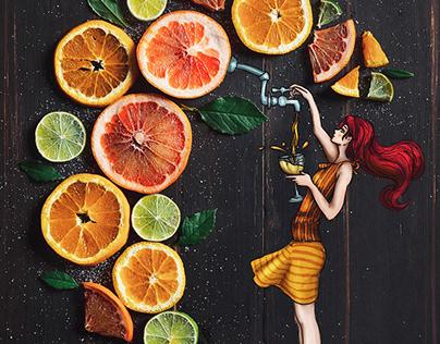 Citrus Fruits - Collection 2018