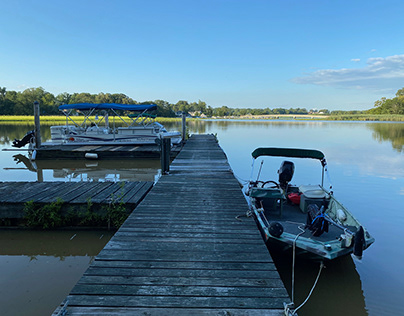 Living on the Bohemia River, Maryland