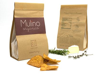 Food Packaging: Mulino Organico Sicilian Crackers