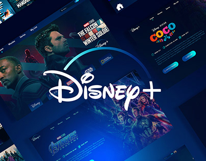 Disney+ ui/ux