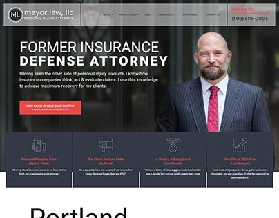 Portland Personal Injury Attorney   Mayor Law, LLC