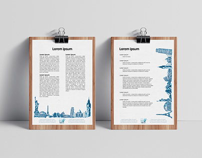 Letterhead for Fittravel