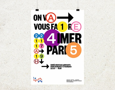 Le Social Bar Paris - Identity
