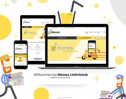 E-Commerce Shop für Momos Lieferkiosk I UI/UX