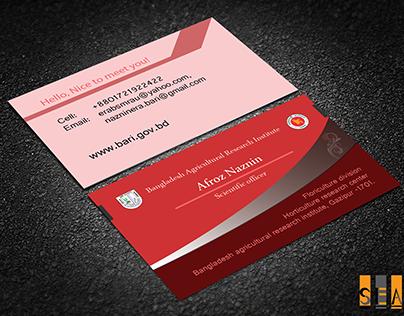 Visiting Card Design 02
