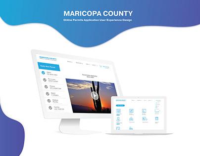 Maricopa County Online Permit UX/UI Design