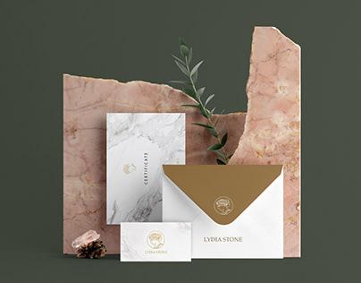 Lydia stone - branding