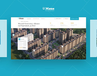 Residential complex Live – web site