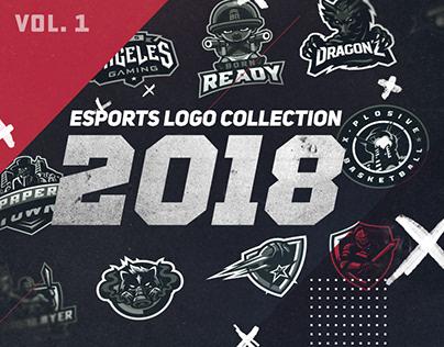 2018 eSports Logo Collection vol. 1