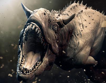 Rampaging Carnotaurus