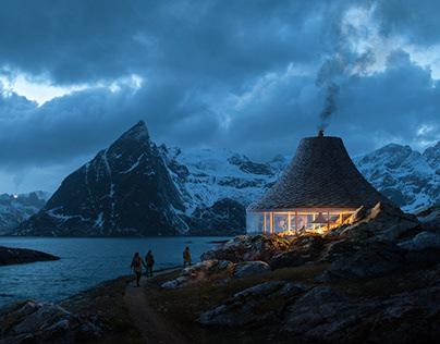 Fjordseeing shelter, Norway