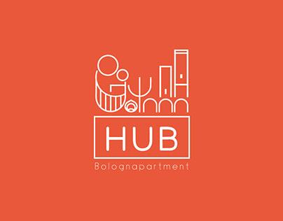 Bologna HUB Apartment_Logo design