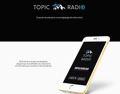 Radio Online Landing