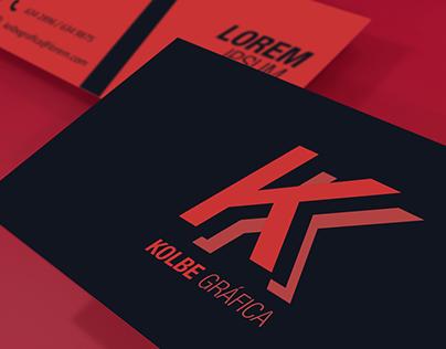 Kolbe Gráfica Rebranding