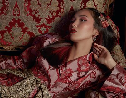 "Elle Kazakhstan 12'2016 ""Eastern saga"""