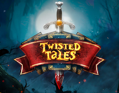 Twisted Tales Logo Design