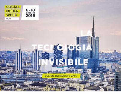 Social Media Week - MILAN - 2016