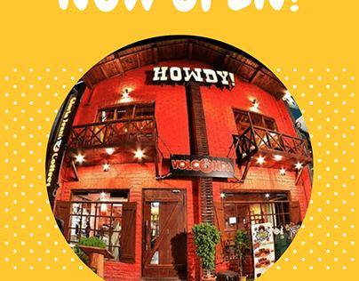 HOWDY Restaurant, Islamabad