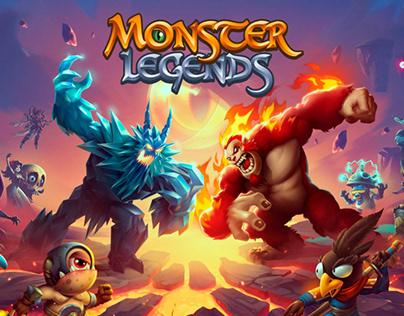 Monster Legends Animation