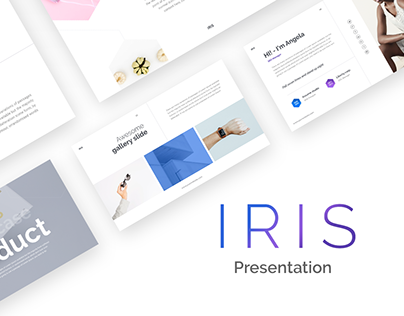 IRIS PowerPoint and Keynote Template