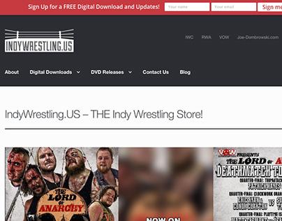 IndyWrestling.US Website