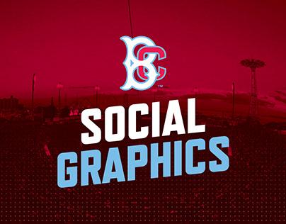 Brooklyn Cyclones - Social Graphics
