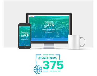 Mtl375 - Redesign website