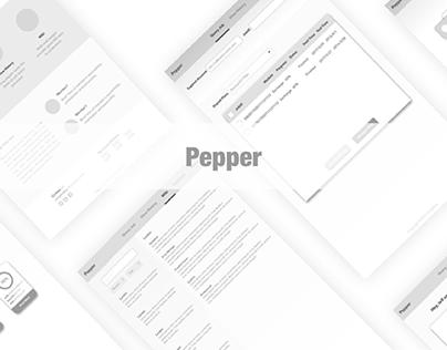 Web Design Pepper UE
