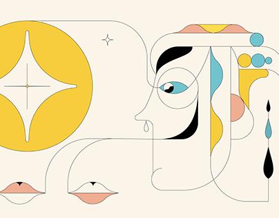 Random Abstract Illustration