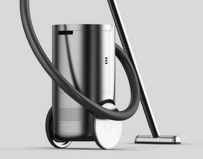 The airborne -a canister vacuum with intuitive movement