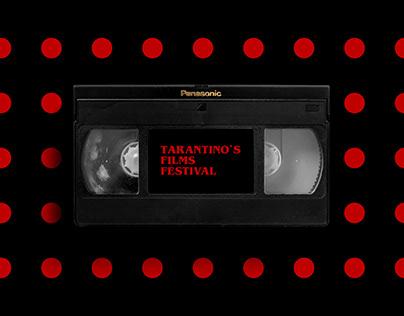 TARANTINO`S FILMS FESTIVAL